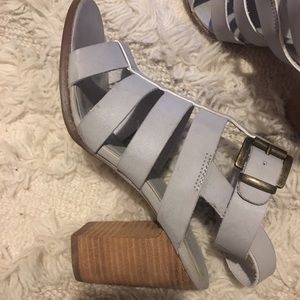 Urban Outfitters Buckle Strap Heel